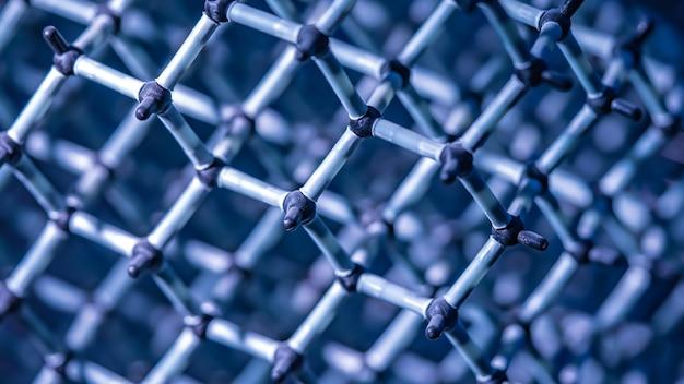 Molekuła chemiczna cząsteczki wody