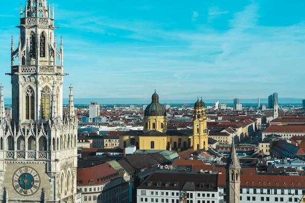 Monachium marienplatz