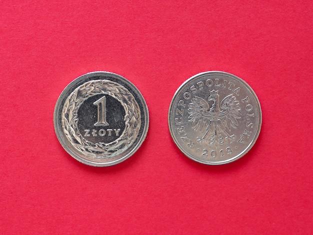 Moneta jednozłotowa, polska