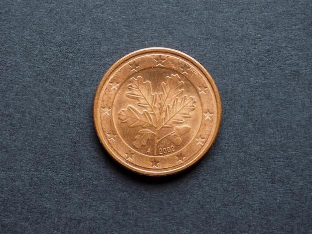 Moneta pięciocentowa euro