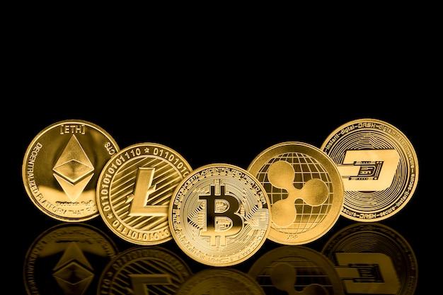 Moneta z walutą kryptograficzną