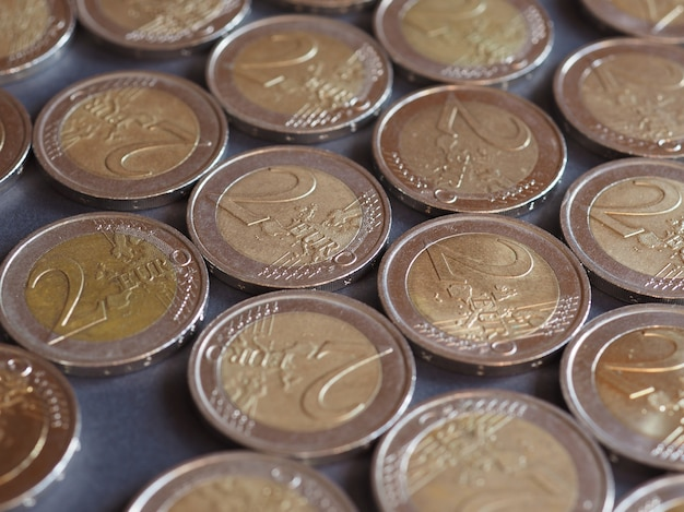 Monety 2 euro, unia europejska