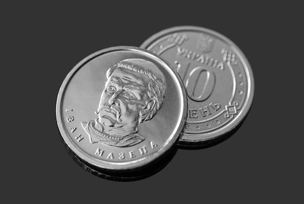 Monety dziesięciu hrywien ukraińskich