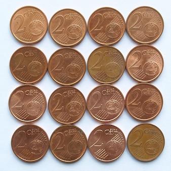 Monety euro, unia europejska