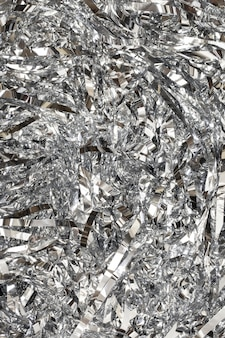 Monochromatyczna błyszcząca tekstura konfetti
