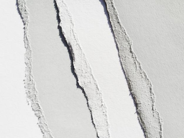 Monochromatyczne warstwy rozdartego papieru