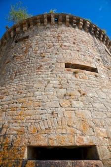 Mont saint michel wieża hdr