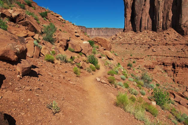 Monument valley w stanie utah i arizonie