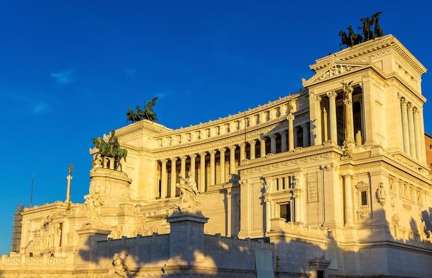 Monumento nazionale a vittorio emanuele ii w rzymie