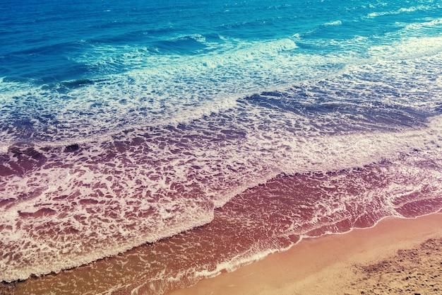 Morskie surfowanie na piaszczystej plaży?