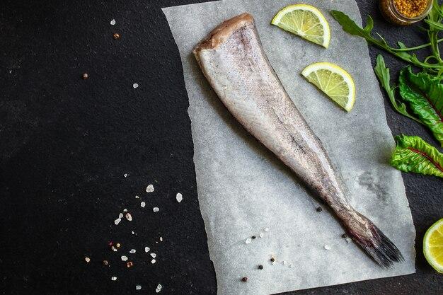 Morszczuk rybny (zestaw składników do gotowania)