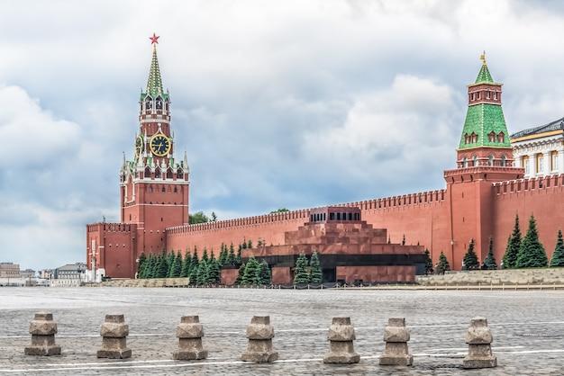 Moskwa, rosja, plac czerwony, kreml