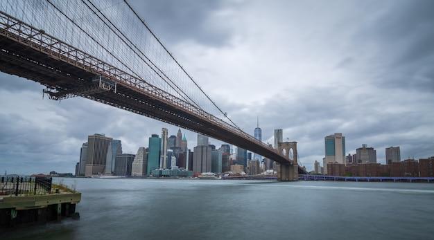 Most brooklyński w miasto nowy jork