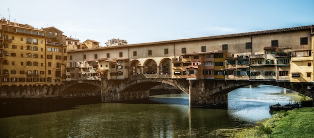Most ponte vecchio we florencji - włochy