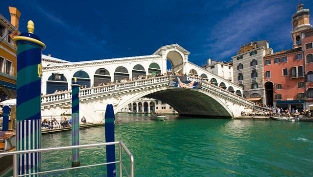 Most rialto wenecja włochy