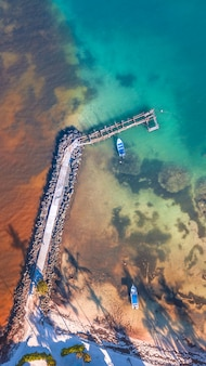 Most w morzu karaibskim