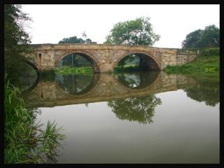 Most w pobliżu kirkham abbey