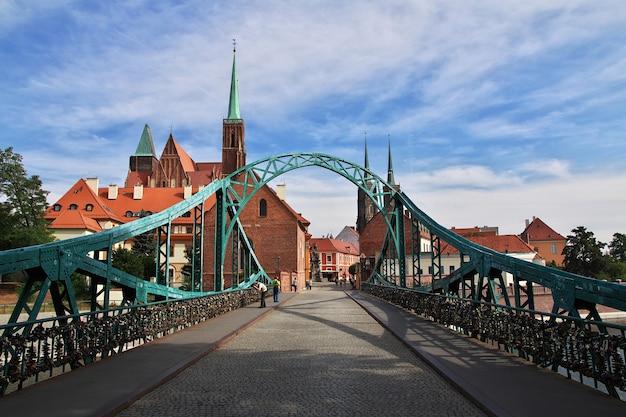 Most we wrocławiu w polsce