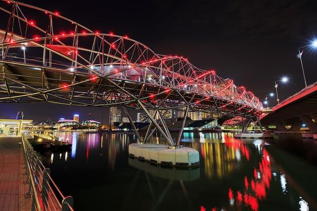 Mostu helix, singapur