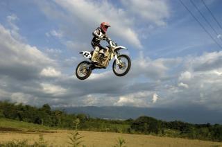 Motocross, motocykl, motocross