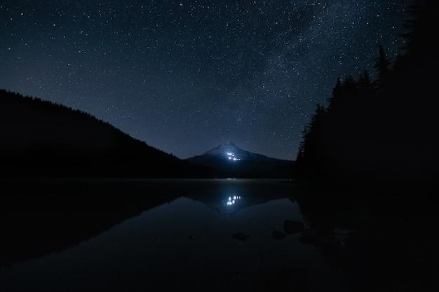 Mount hood w trilliuam lake portland w stanie oregon