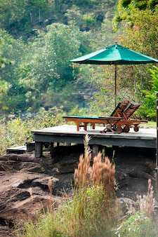 Mountain pine ridge reserve, deck