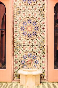 Mozaika pałac ben drzwi wzór