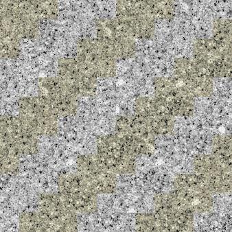 Mozaika z naturalnego granitu. kamienny wzór.