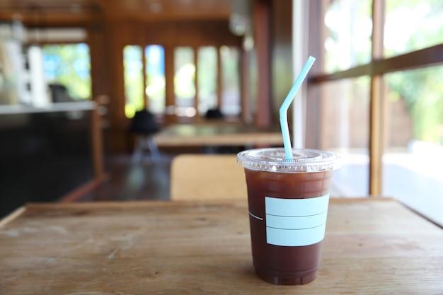 Mrożona kawa americano