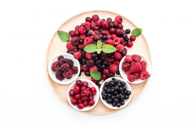 Mrożone jagody mieszane