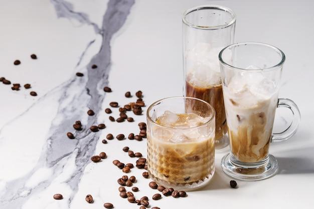 Mrożony koktajl kawowy
