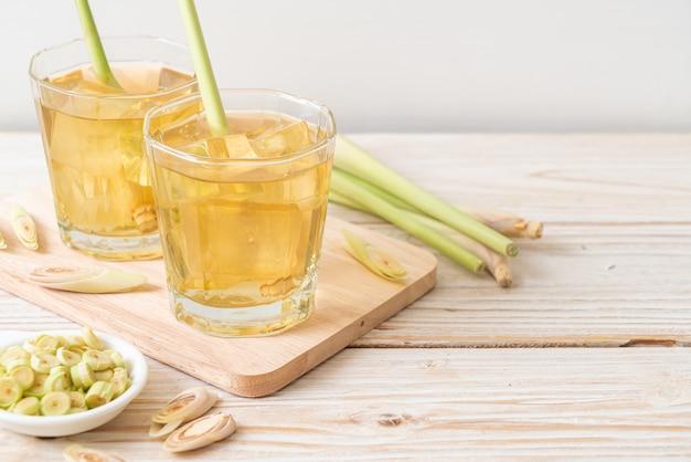 Mrożony sok z trawy cytrynowej