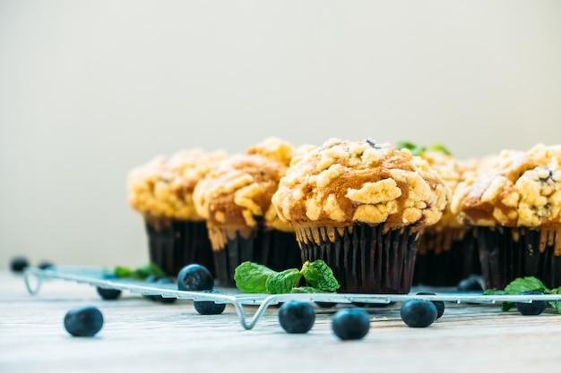 Muffin z jagodami