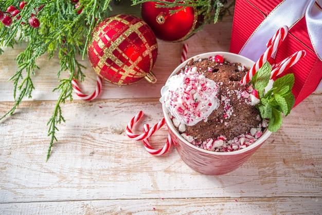 Mugcake czekoladowo-miętowy
