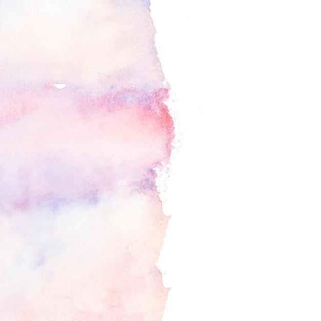 Multi kolorowe pociągnięcia pędzlem na białym tle