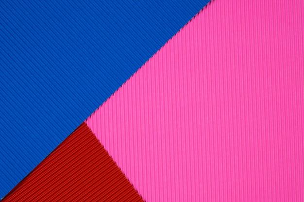 Multi kolorowe tektury falistej tło