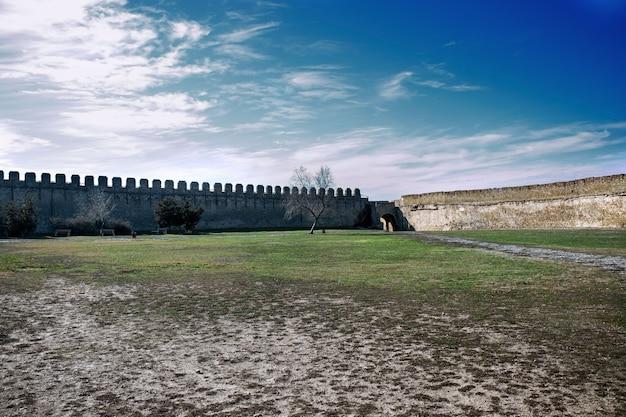 Mur twierdzy w akkerman na ukrainie