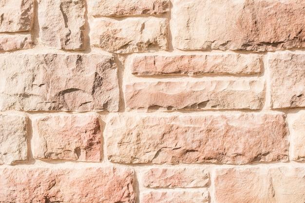 Mur z cegły na tle