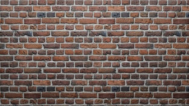 Mur z cegły teksturowanej tło