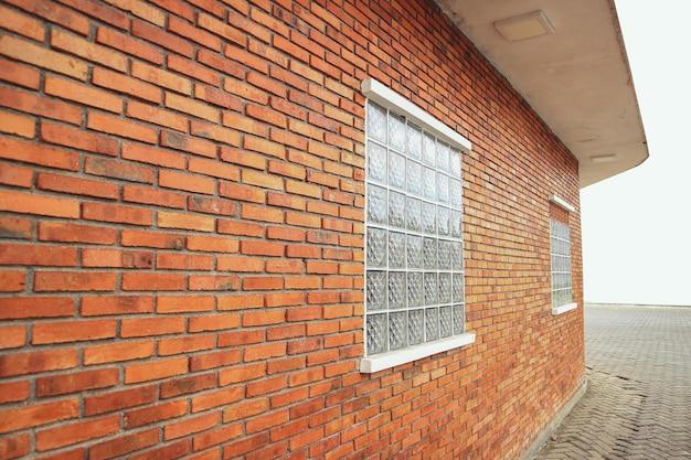 Mur z cegły tło wykonane z cegieł tekstura powierzchni ściany