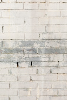 Mur z cegły z plamami