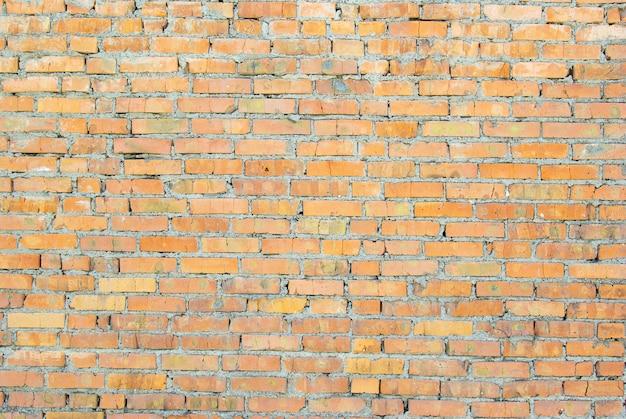 Mur z czerwonej cegły. cegła tło