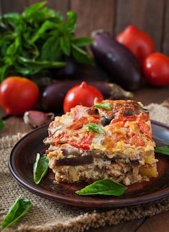 Musaka - tradycyjne greckie danie