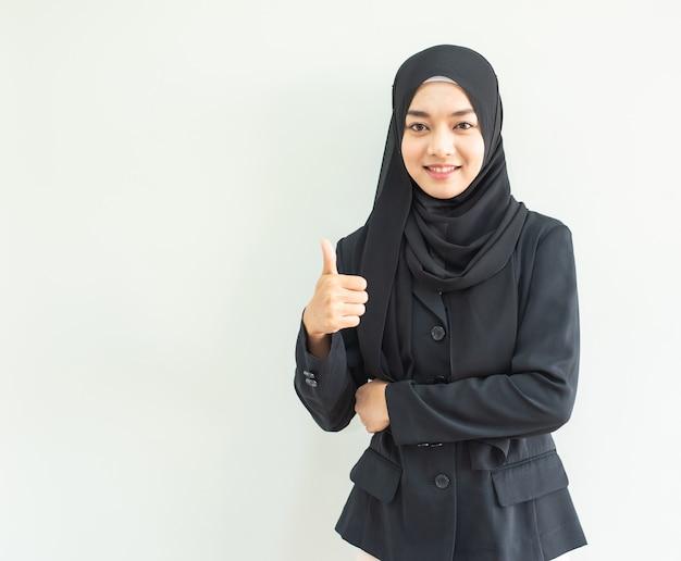 Muslimgirlworkportrait