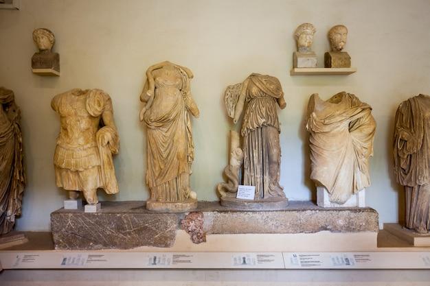Muzeum archeologiczne w epidauros, grecja