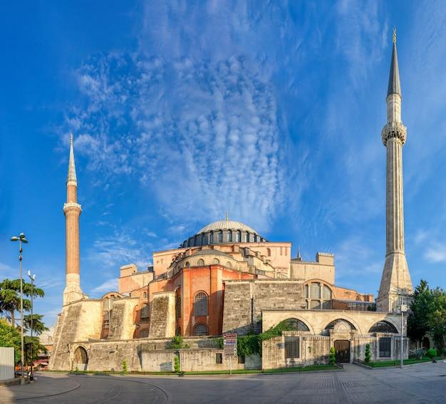 Muzeum hagia sophia w stambule, turcja