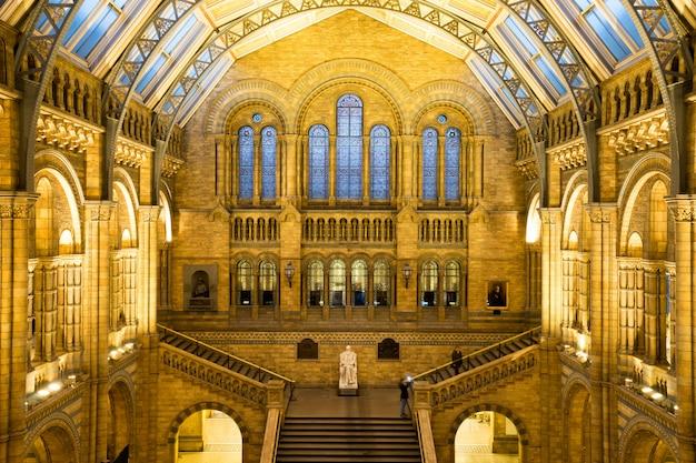 Muzeum historii naturalnej w londynie, anglia