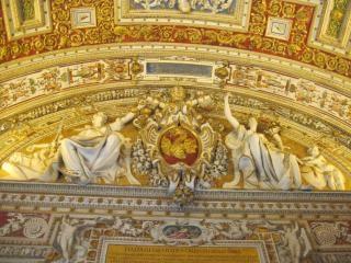 Muzeum watykańskie sufit