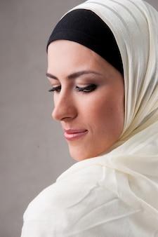 Muzułmański portret kobiety