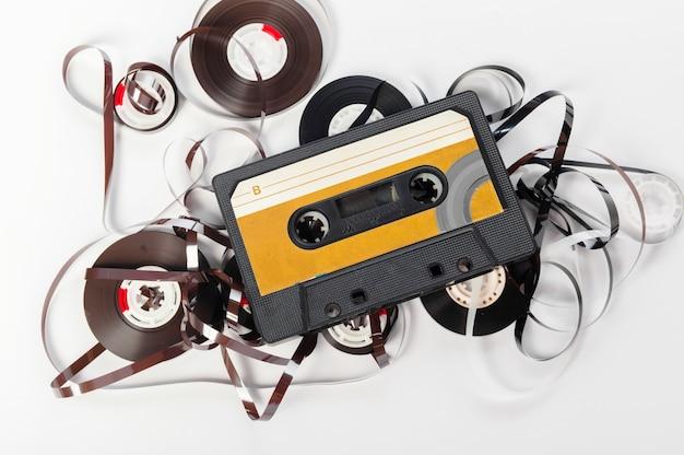 Muzyczna taśma audio